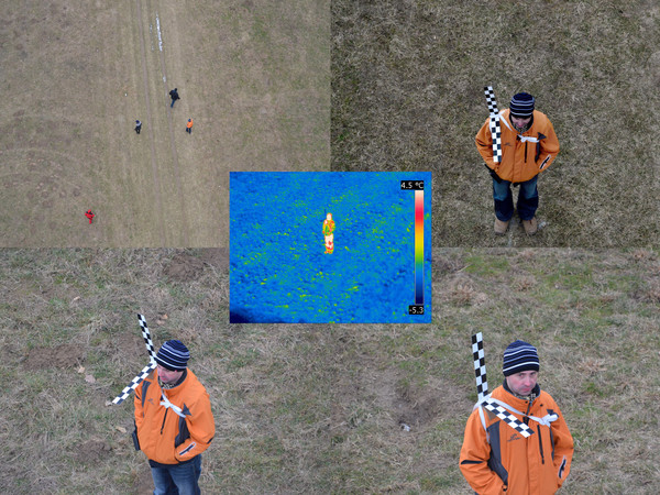 Face recognition from a quadcopter