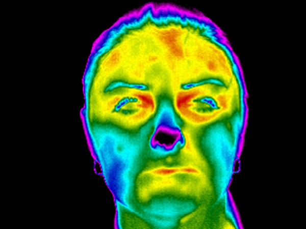 Module for face thermo-images processing